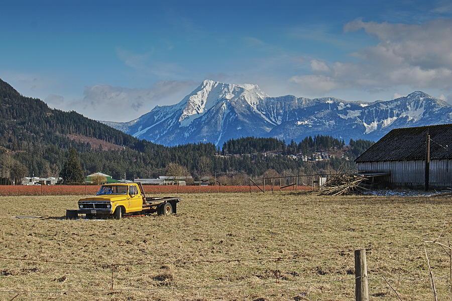 Truck in Harison Mills by Hagen Pflueger