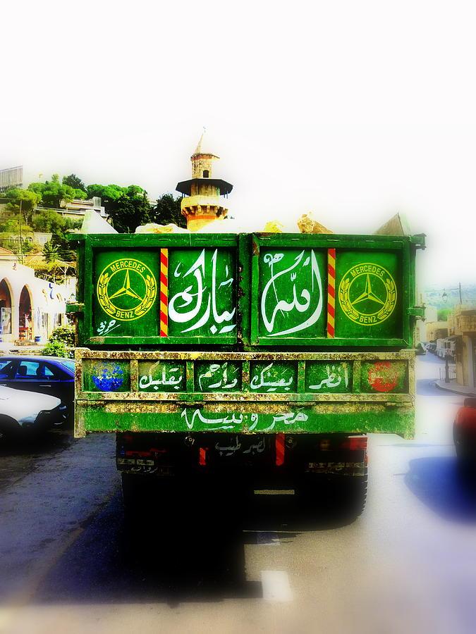 Lebanon Photograph - Trucking Across Lebanon by Funkpix Photo Hunter