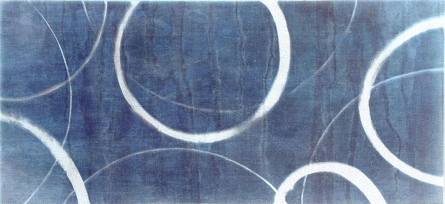 True Blue Ensos Painting