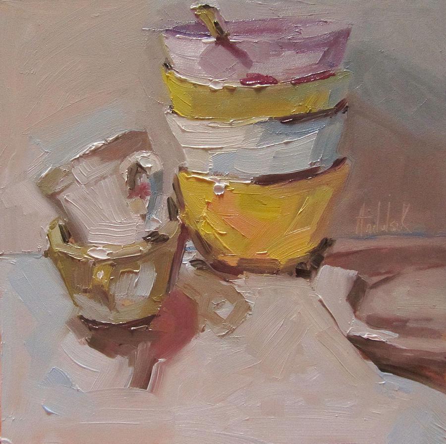 Kitchen Painting - True Colors by Barbara Andolsek