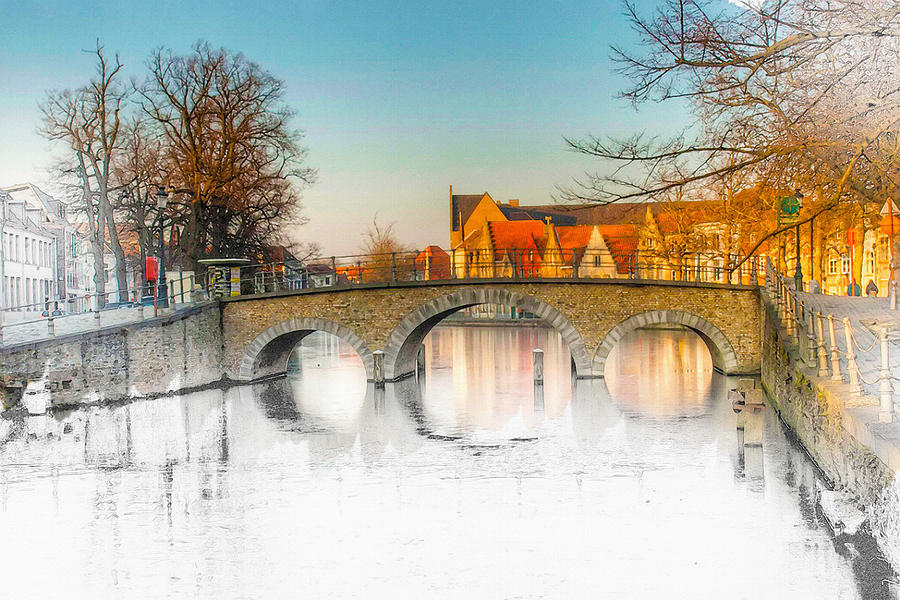 Art & Collectibles Digital Art - True Colors Of Amsterdam by Don Kuing