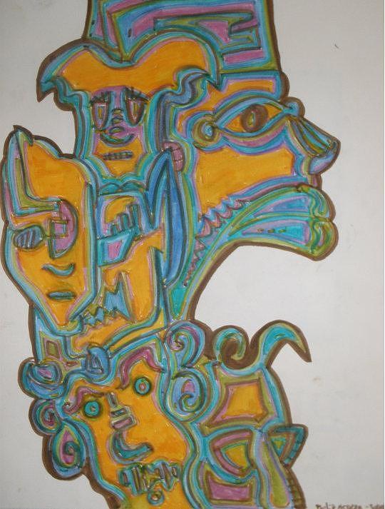 True Gold Drawing by Philip Arnzen-Jones