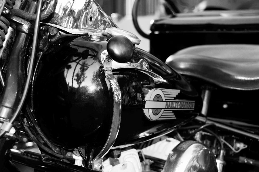 Motorcycle Photograph - True Grit by David Lee Thompson