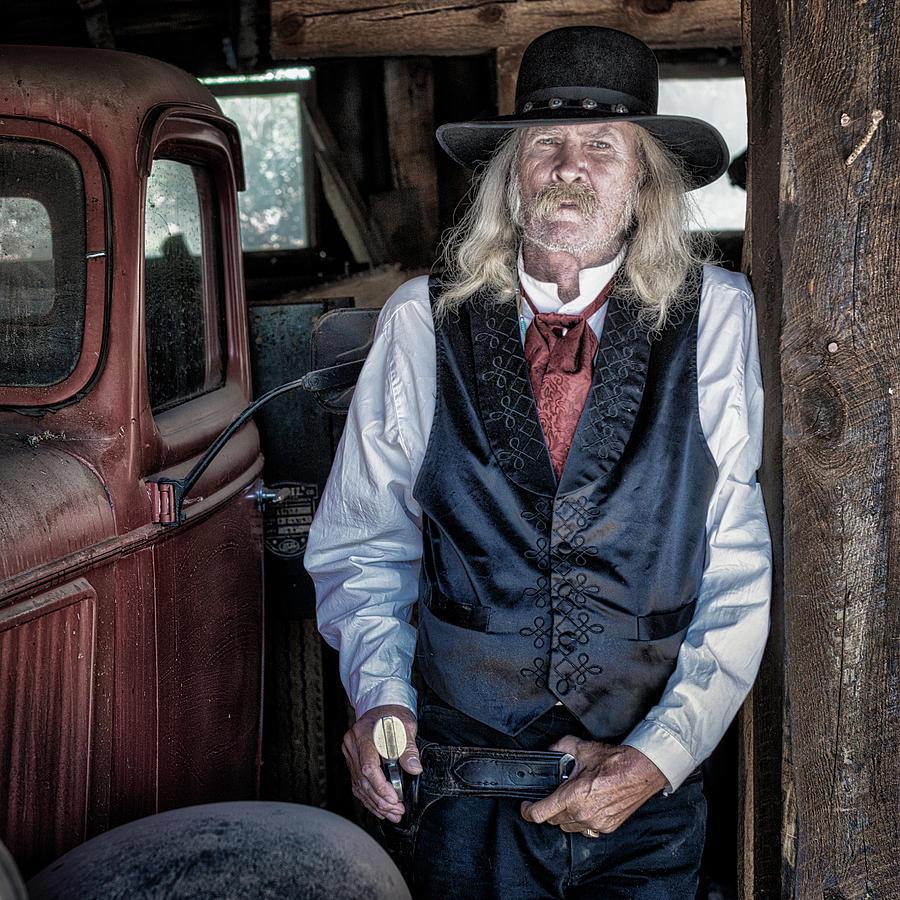 Cowboy Photograph - True Grit by William Dahl