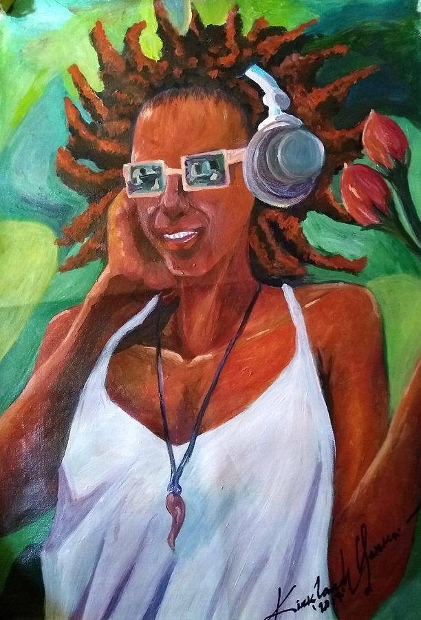 Music Painting - True Jamaican Rhythm by Kirkland  Clarke