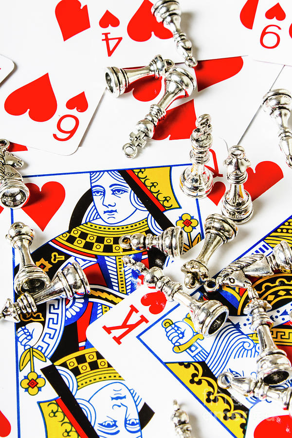 Casino Photograph - True Love Reigns Supreme by Jorgo Photography - Wall Art Gallery