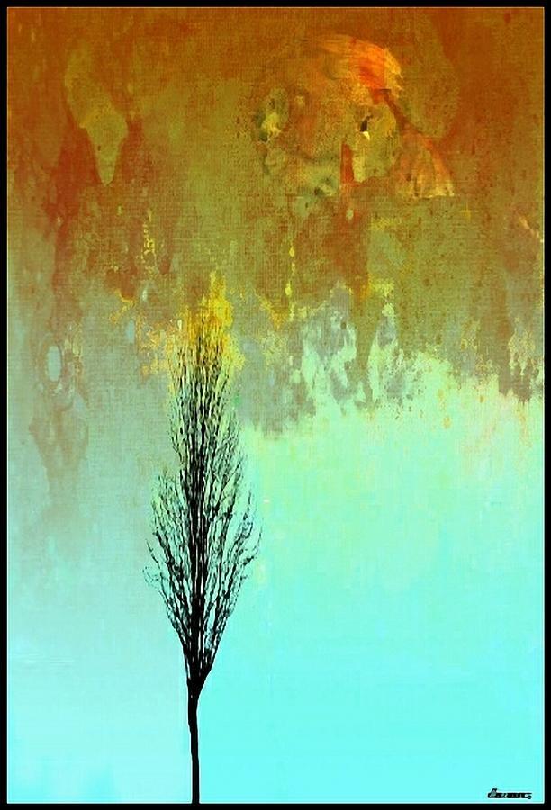 Mother Nature Digital Art - True Natures Child by Ellen Cannon
