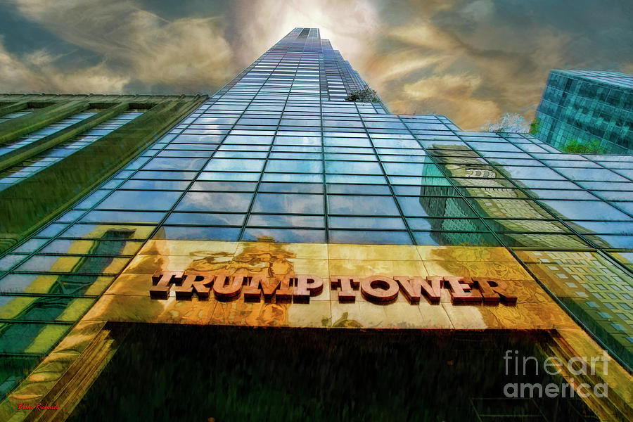 Trump Tower Photograph - Trump Tower by Blake Richards