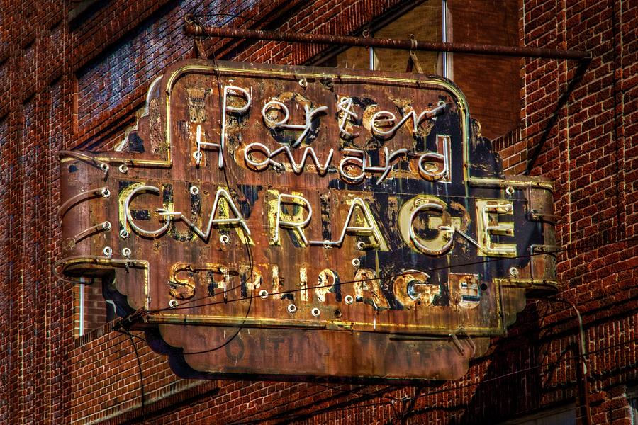 Rusty Sign Photograph - Trust In Rust by Linda Unger