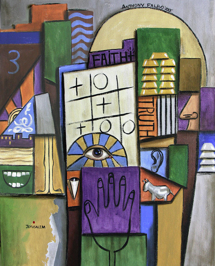 Trust In The Lord Psalm 115 Painting by Anthony Falbo