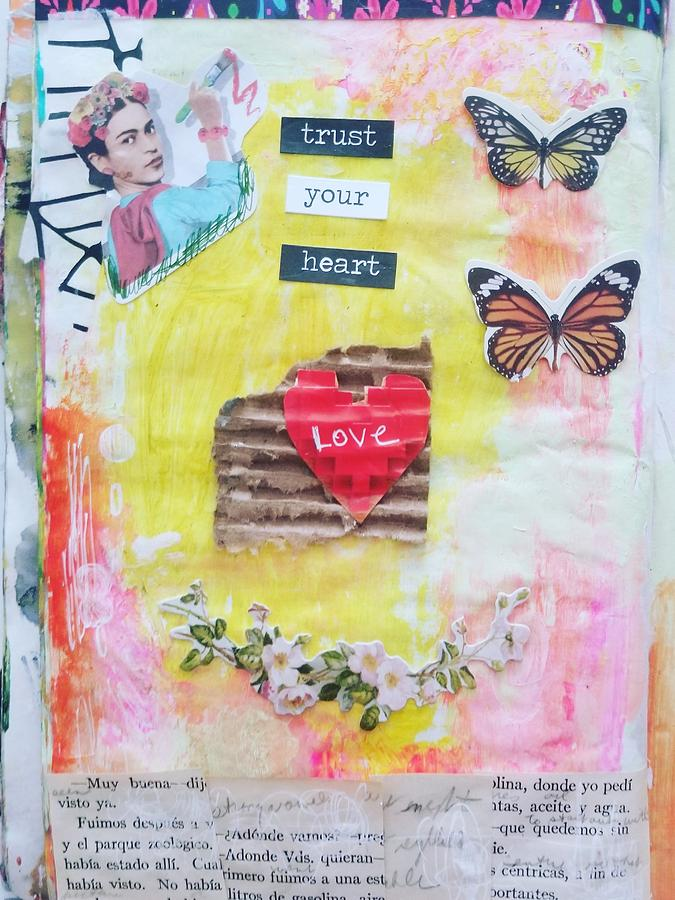 Trust Your Heart Painting by Patricia Byron