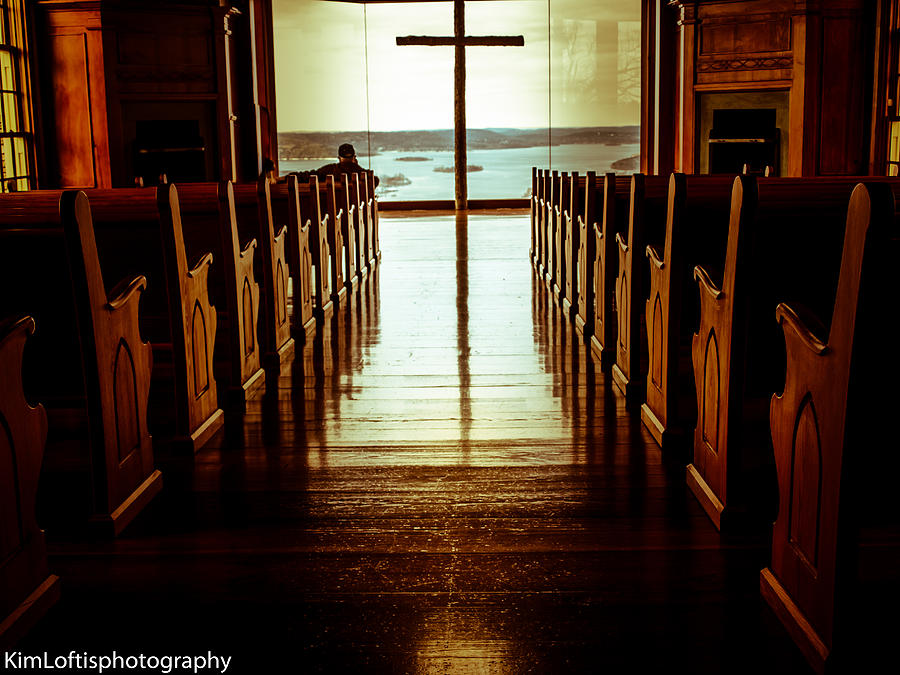 Church Photograph - Truth And The Light  by Kim Loftis