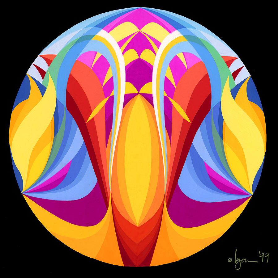 Mandalas Painting - Truth by Angela Treat Lyon