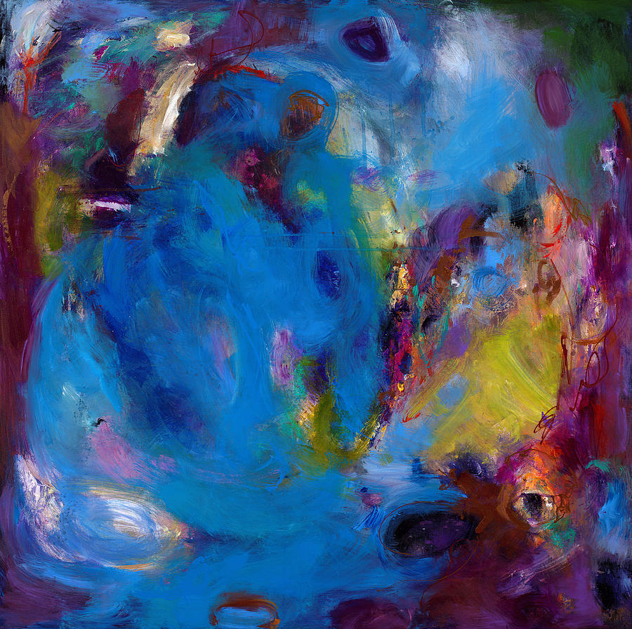 Abstract Expressionistic Painting - Truth In Dreams II by Johnathan Harris
