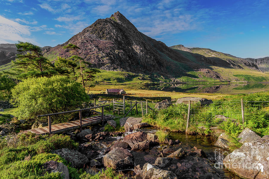 Tryfan Mountain Photograph - Tryfan Mountain Valley by Adrian Evans