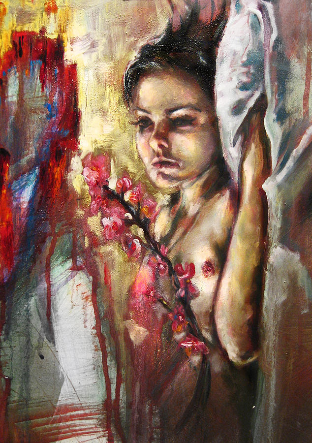Tryst Painting by Taren Meacham