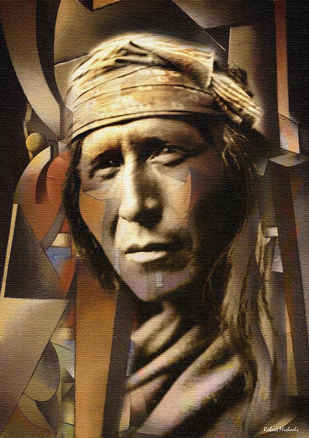 Tsahizn Tseh Apache Photograph By Robert Michaels