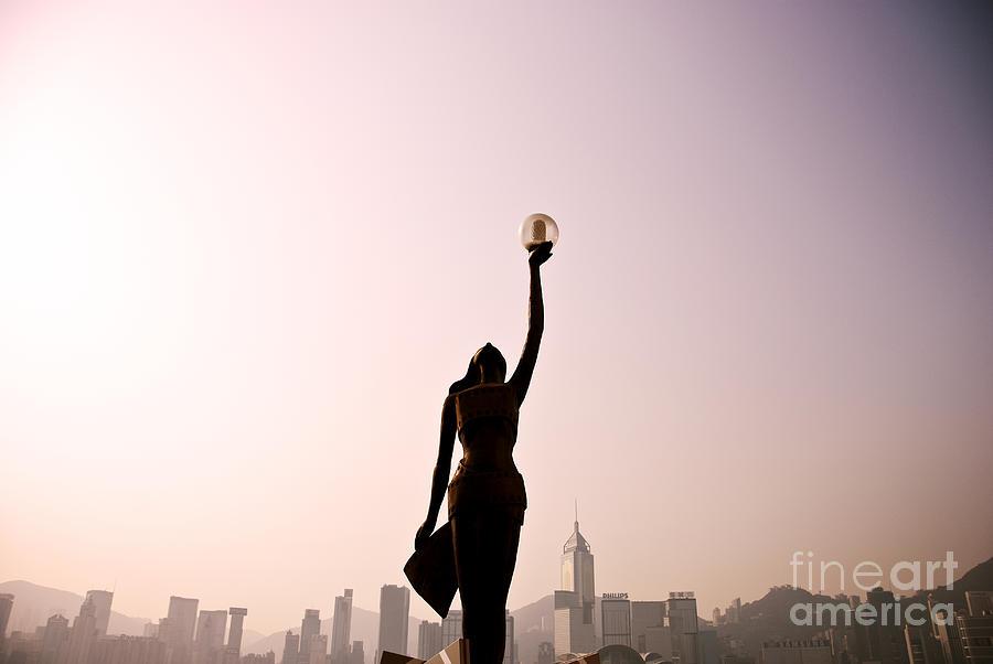 Alongside Photograph - Tsim Sha Tsui K by Ray Laskowitz - Printscapes