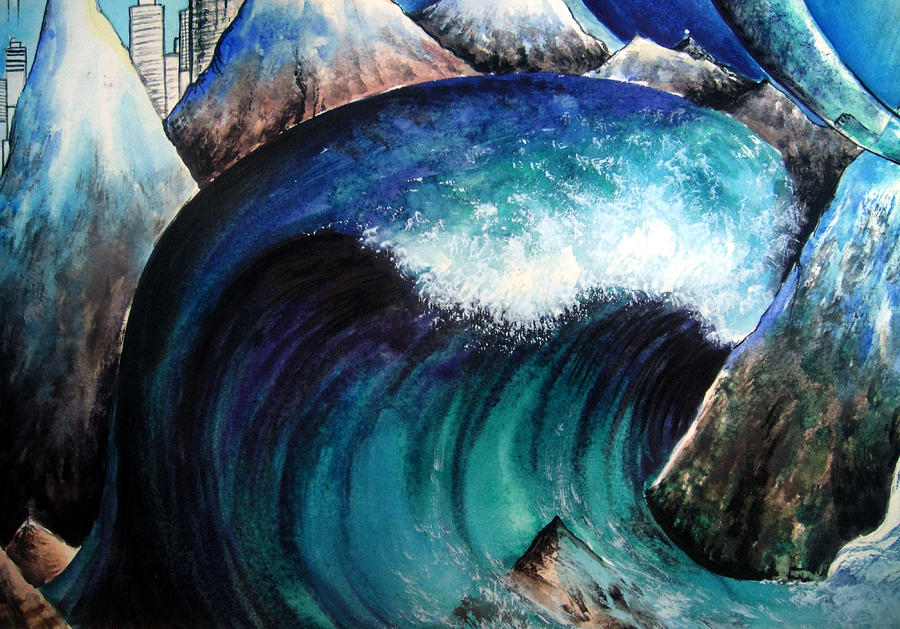 Artists That Paint Natural Disasters