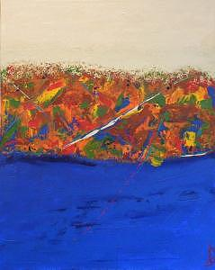 Tsunami Painting by Bjay Allen