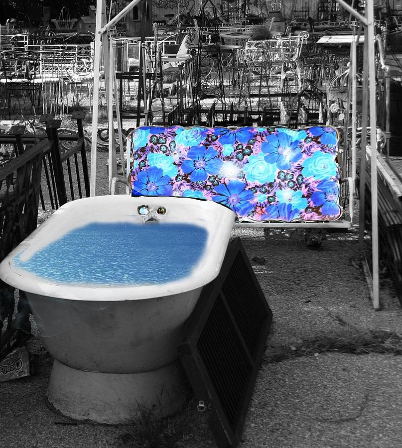 Tub Photograph - tub by Brenda Myers
