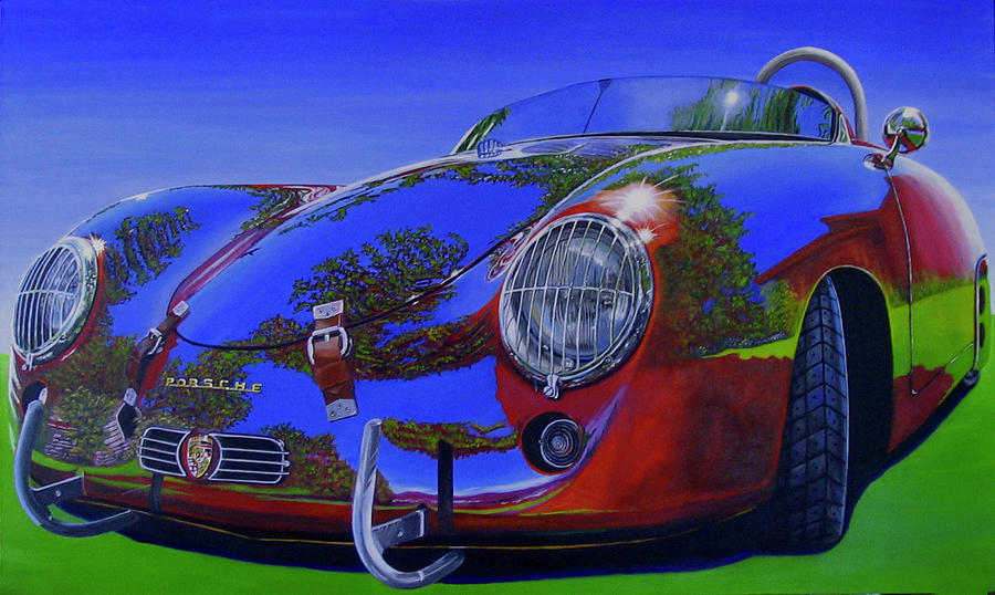 Car Painting - Tub Effects by Lynn Masters