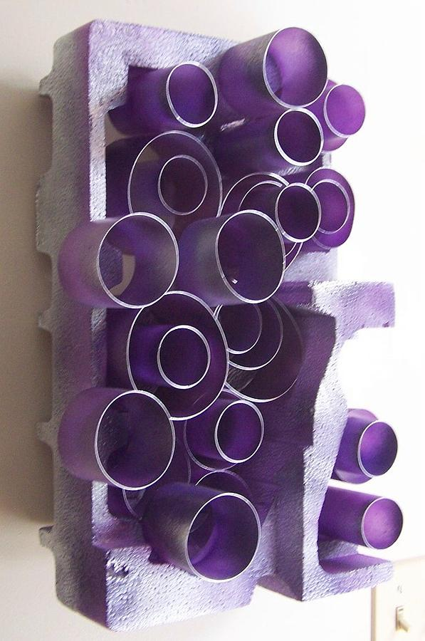 3d Mixed Media - Tubes by Shirley  Jean