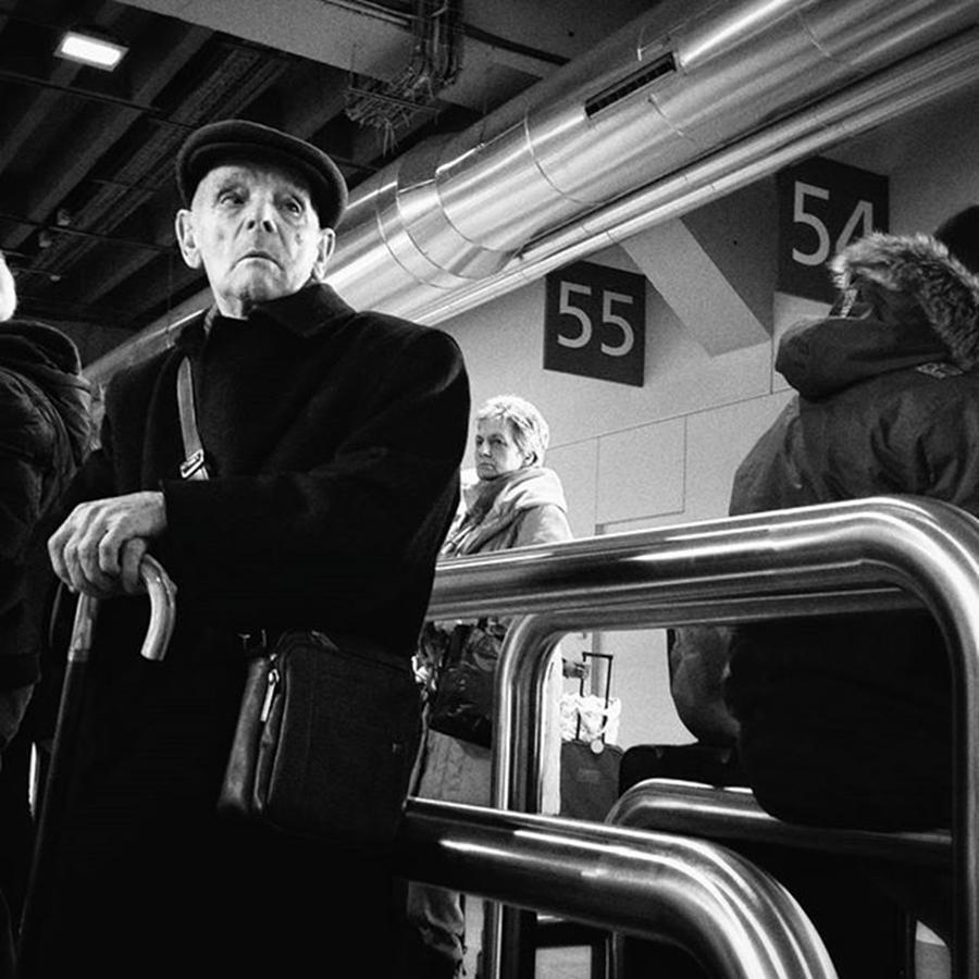 Citylife Photograph - Tubular Man  #man #señor #people by Rafa Rivas