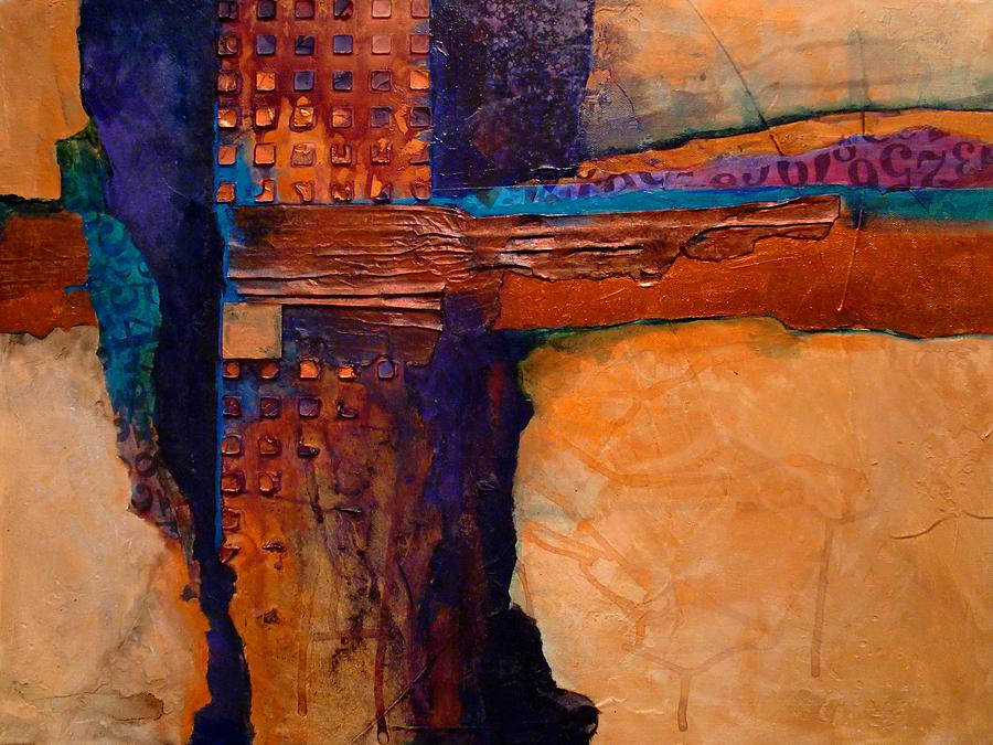 Abstract Painting - Tucson by Carol  Nelson
