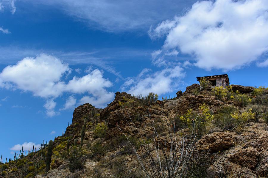 Gates Pass Photograph - Tucson Mountains by Pat Scanlon