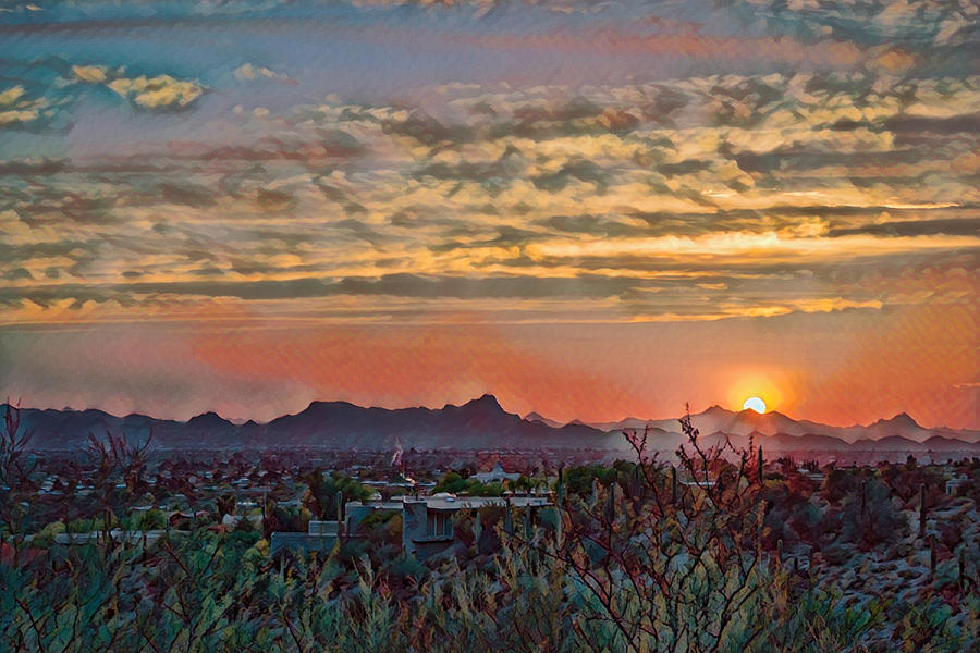 Tucson Sunset remix by Dan McManus