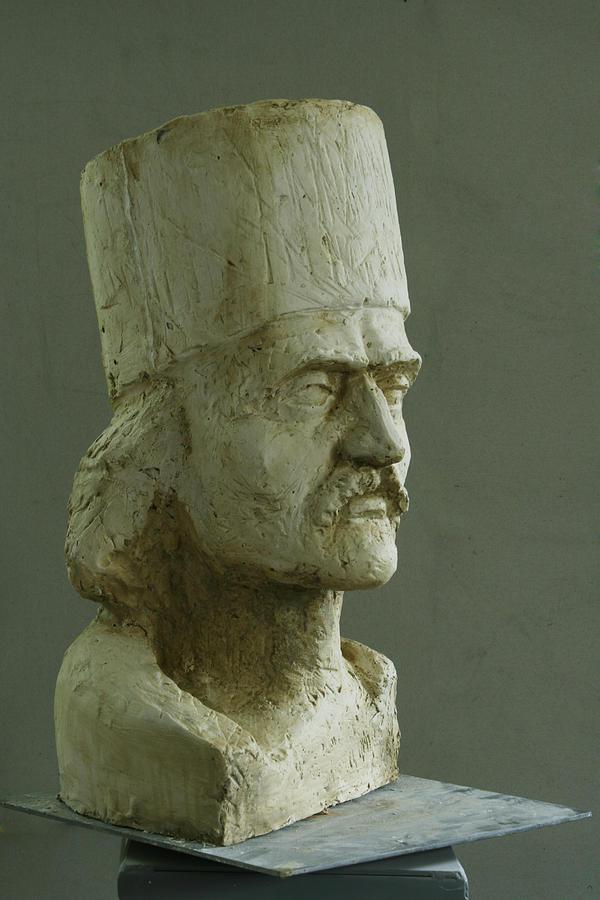 Tudor Vladimirescu Sculpture by Bucalau  Andrei
