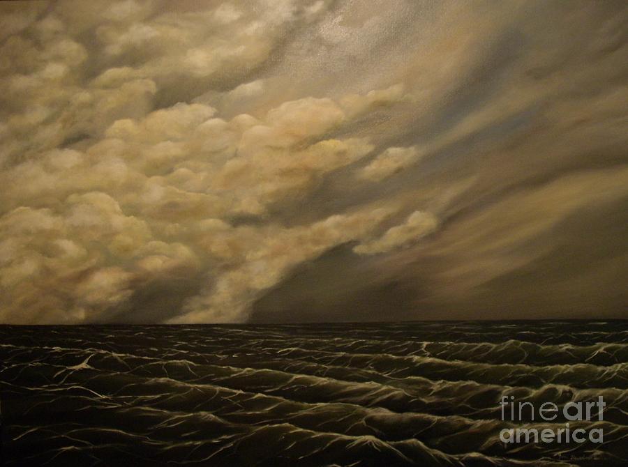 Sky Painting - Tuesday Morning by John Stuart Webbstock