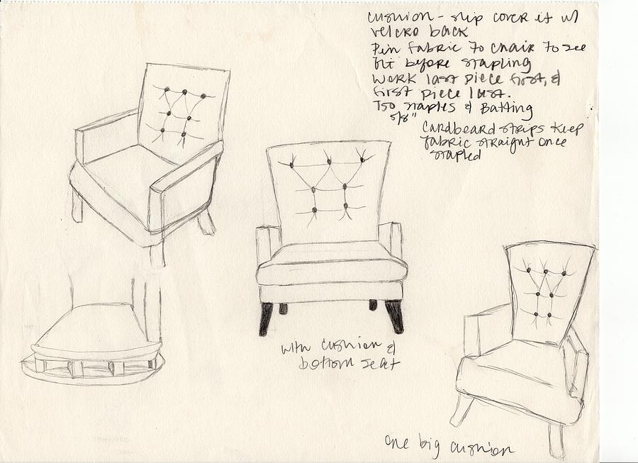 Chair Design Sketches. Chair Design Sketches
