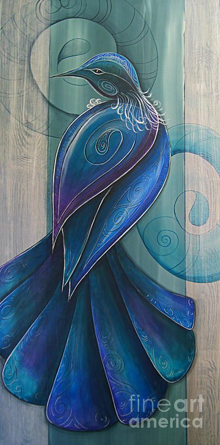 Tui Bird 3 by Reina Cottier