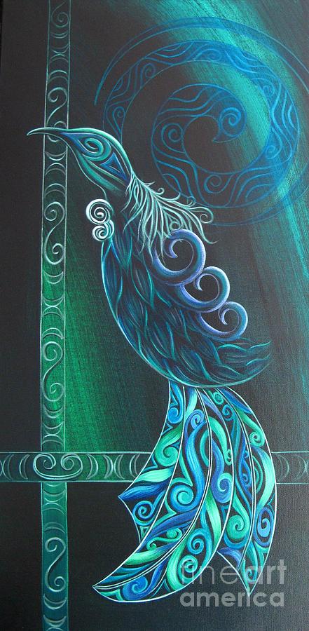 Tui Bird by Reina Cottier by Reina Cottier
