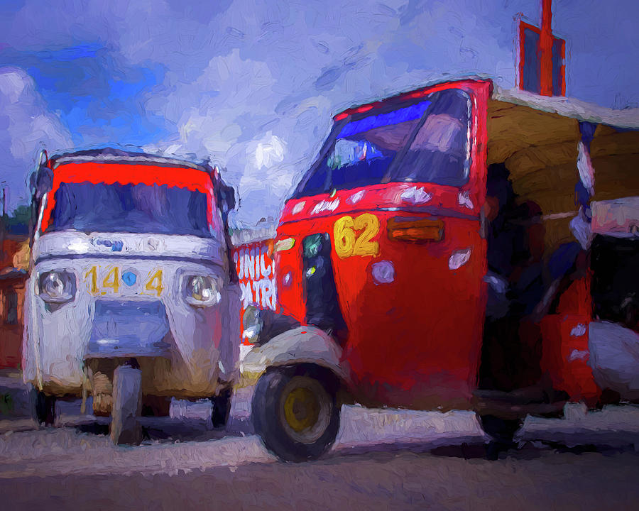 Tuk Tuks  by Adam Reinhart