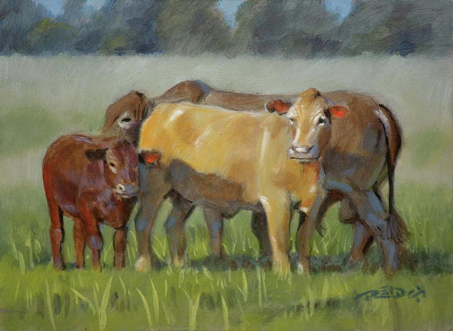 Acrylic Painting - Tuli Family by Christopher Reid