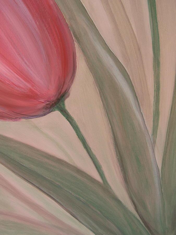 Tulips Painting - Tulip Series 2 by Anita Burgermeister