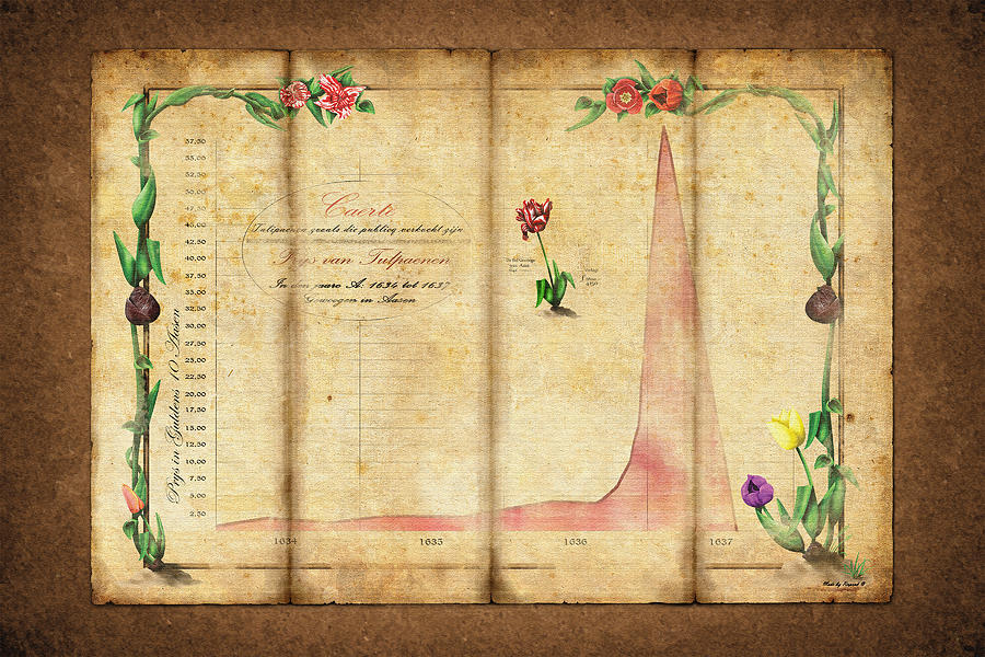 Tulipomania Digital Art - Tulipomania by Rene Pronk