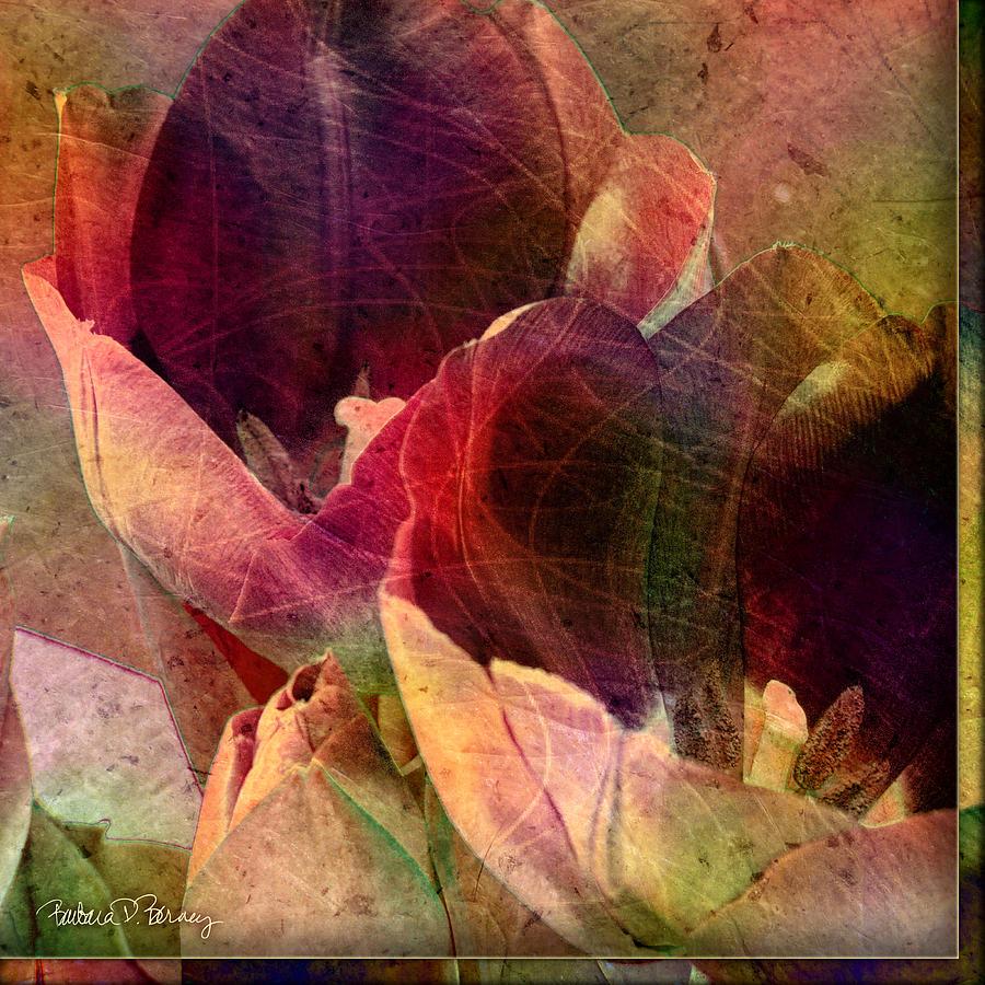 Tulips Digital Art - Tulips by Barbara Berney