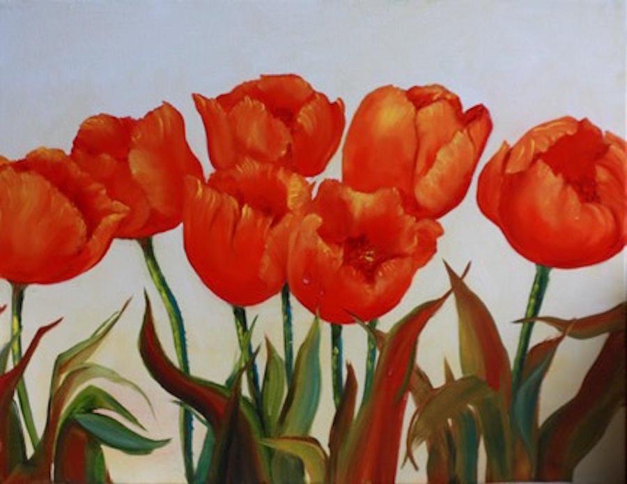 Tulips by Meg Keeling