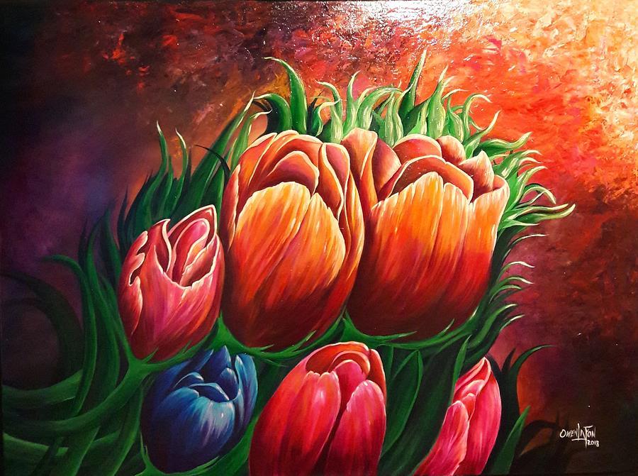 Tulips by Owen Lafon