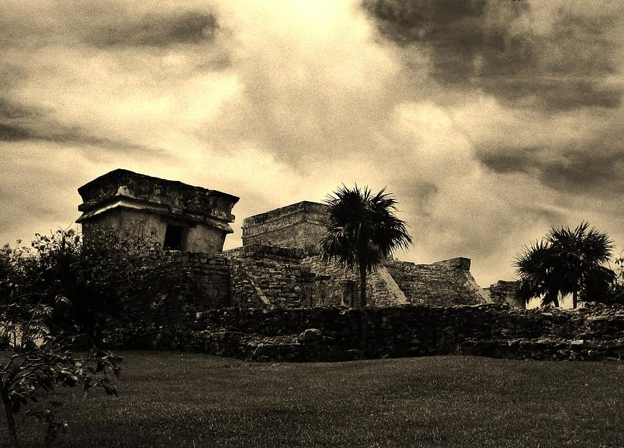 Landscape Photograph - Tulum by Halle Treanor