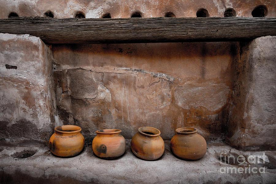 Tumacacori National Historical Park - Pottery - Arizona by Gary Whitton