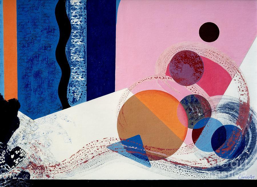 Tumbling Spheres by Jean Clarke