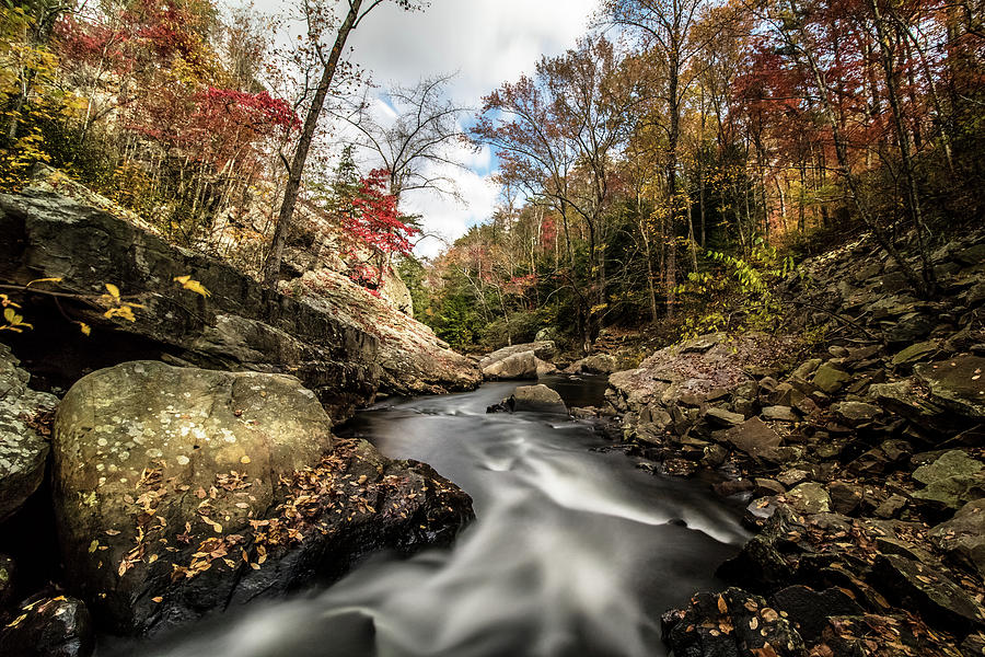 Tumbling Water by Mike Dunn