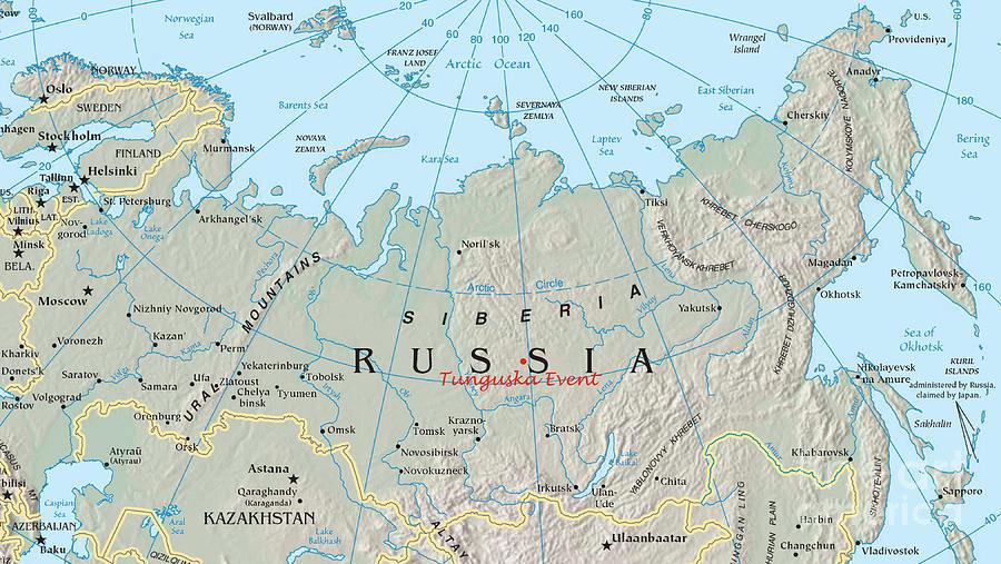 Tunguska Event Location Siberia Russia Photograph By
