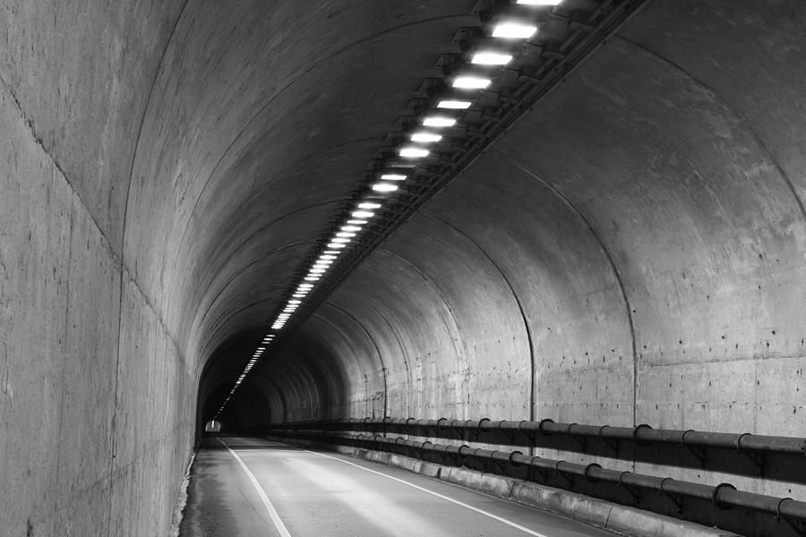 Tunnel Photograph - Tunnel by Eric Foltz