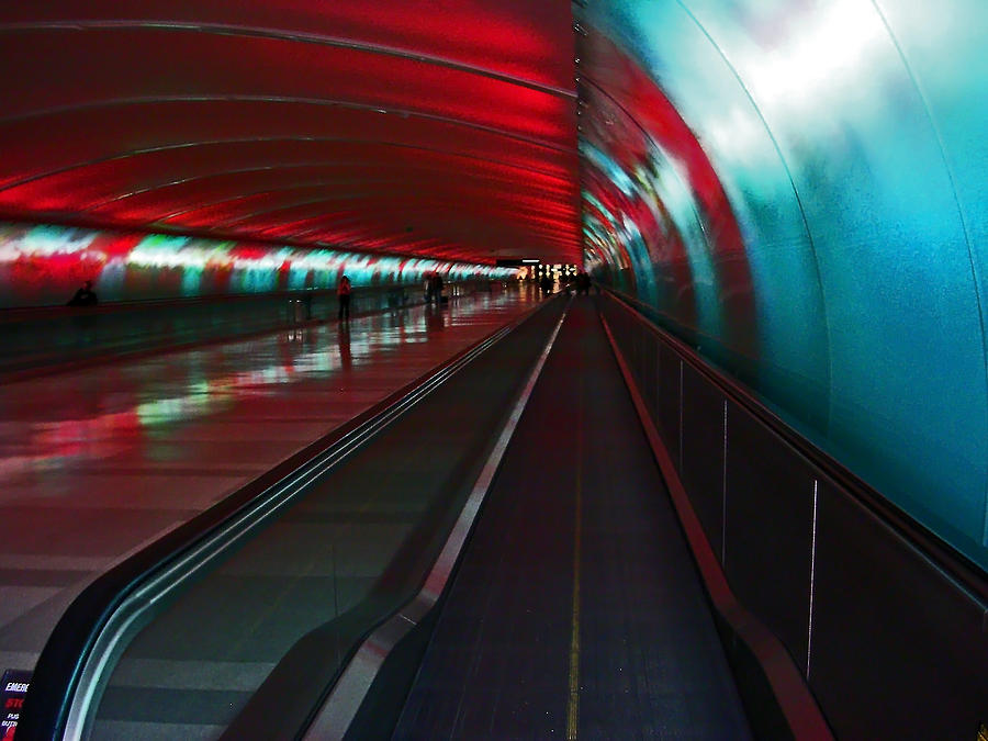 Tunnel Photograph - Tunnel Of Light by Elizabeth Hoskinson